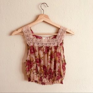 Band of Gypsies Romance Tank; Size M